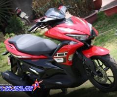 nvx 155 - 60th red