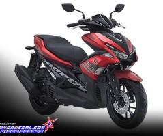 nvx 155 - aerox red