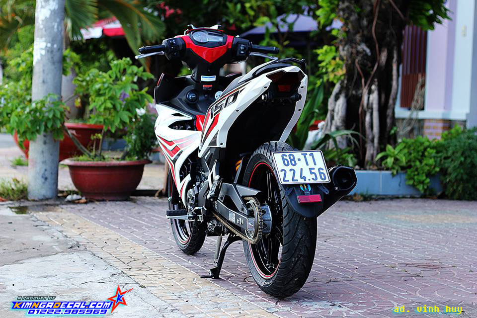 BỘ ẢNH JUPITER MX 150 - RED COLOUR in VIETNAM