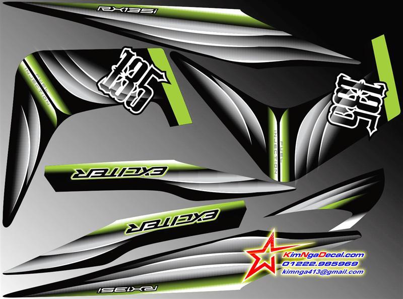 TEM XE EXCITER - SPARK 135 2014