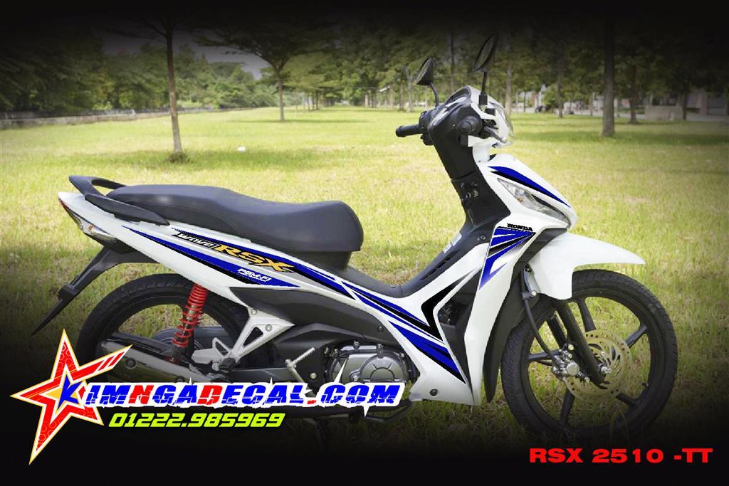 HONDA wave rsx 2014 fi - 2510 TT